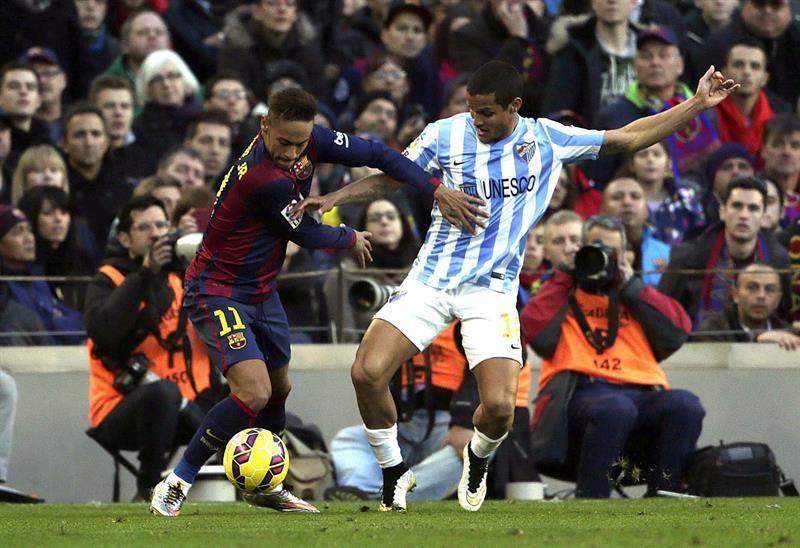 El delantero brasileño del FC Barcelona, Neymar. Foto: EFE
