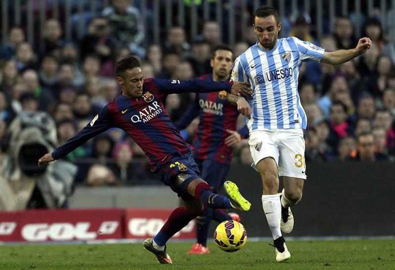 El delantero brasileño del FC Barcelona Neymar Jr. Foto: EFE