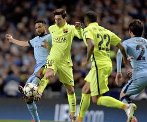 Barsa y Messi vuelven a dictar cátedra en Manchester