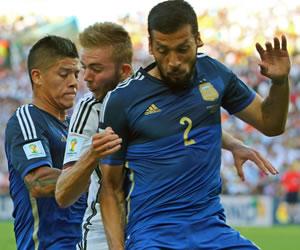 """""""Llegar a la final del Mundial es mi recuerdo futbolístico más bonito"""", Garay"""