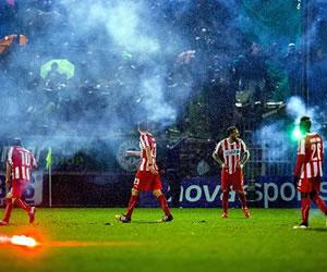 Grecia suspende indefinidamente la liga de fútbol para combatir la violencia