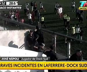 Graves incidentes en la tercera división de Argentina