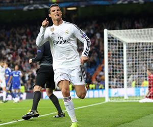 Cristiano Ronaldo supera a Raúl como máximo goleador competiciones europeas