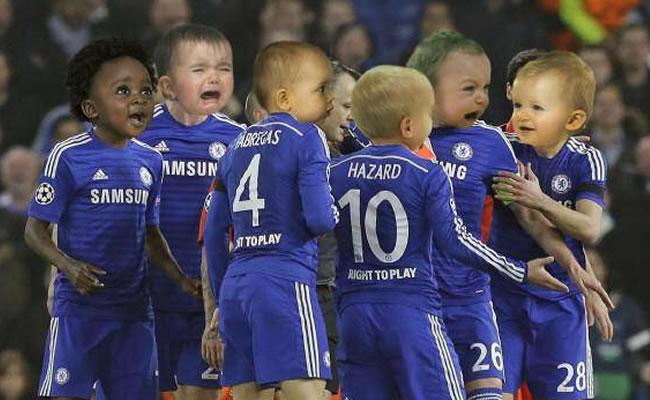 La eliminación del Chelsea y los bebés de Ibrahimovic en 'memes'. Foto Twitter.com