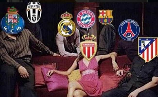 Así fue el sorteo de los cuartos de final de la Liga de Campeones en 'memes'