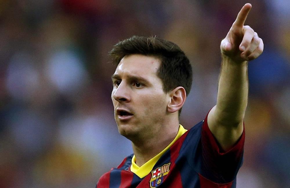 El jugador argentino Lionel Messi. Foto: EFE