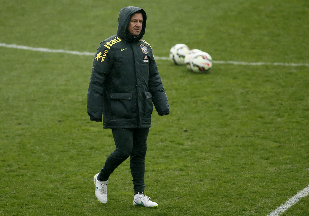 El entrenador de la selección brasileña de fútbol, Carlos Dunga. Foto: EFE