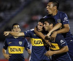 Boca ratifica su poderío en la Libertadores frente a Wanderers