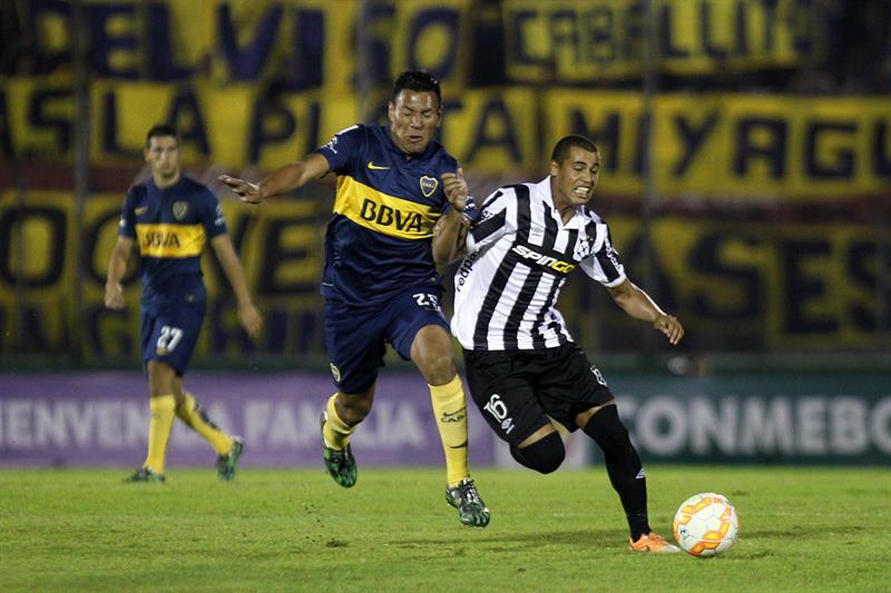 Boca Juniors apabulla a Wanderers y se perfila como el mejor primero de la fase de grupos. EFE