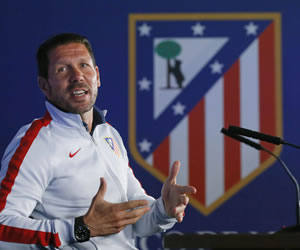 Simeone quiere la revancha ante Real Madrid