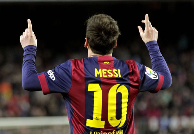 El delantero argentino del FC Barcelona Leo Messi. Foto: EFE