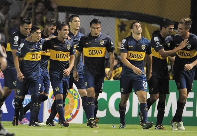 En la previa del superclásico, Boca y River van por un triunfo en la Liga Argentina. Foto: EFE