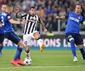 Tévez y la Juventus confían en su mínima ventaja