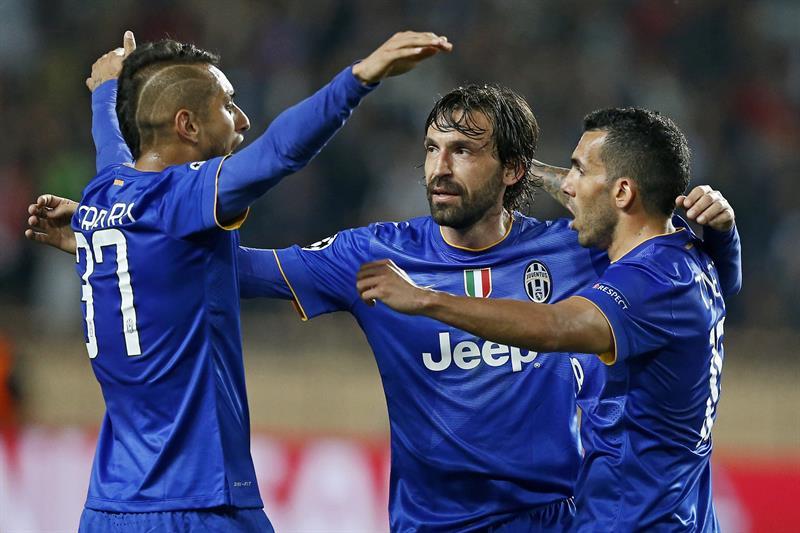 Juventus aplica su jerarquía ante el Mónaco