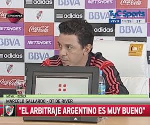 Marcelo Gallardo confesó que le gusta la propuesta ofensiva de Boca