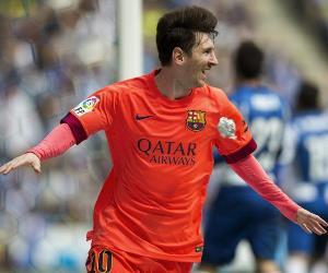 Messi superó la barrera de los 400 goles con el Barcelona