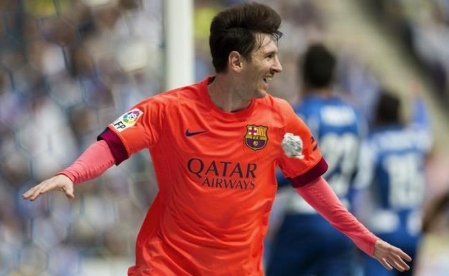 Lionel Messi completó 401 goles con la camiseta del Barcelona. Foto: EFE