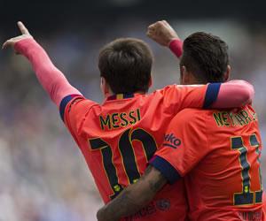 Messi acecha a Cristiano en la tabla de goleadores