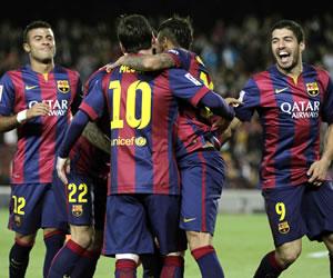 Messi y Barça destrozan a Getafe