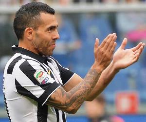 Tévez, campeón en Italia con Juventus