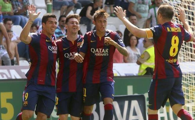 Lionel Messi completó 40 anotaciones en la competición. Foto: EFE