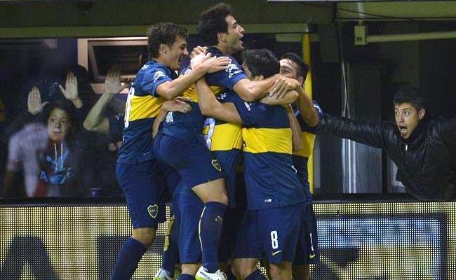 Boca Juniors noqueó a River Plate en los minutos finales. Foto: EFE