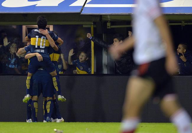Boca Juniors, único líder tras completarse la undécima jornada de la Liga Argentina. Foto: EFE