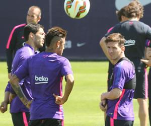 Messi y Barsa quieren derrotar a la Real Sociedad