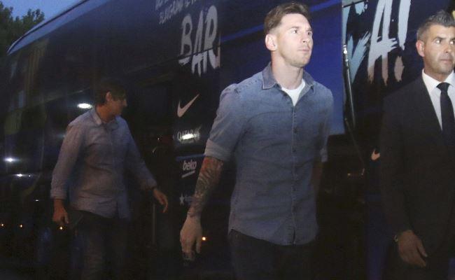 Lionel Messi tendrá cuidados especiales en Chile 2015. Foto: EFE