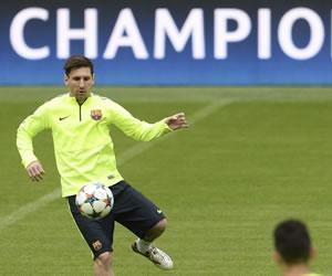 Messi y Barça van por una nueva final en la Champions