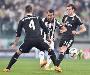 Tévez y la Juve buscan mantener la ventaja ante el Real Madrid