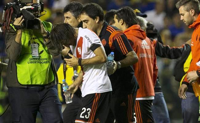 River Plate jugará los cuartos de final ante Cruzeiro de Brasil. Foto: EFE.