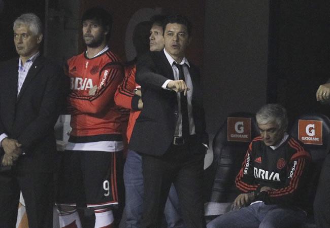 River quiere dejar atrás el incidente con Boca y recibe a Cruzeiro. Foto: EFE