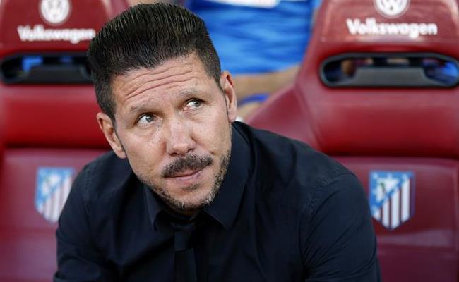 Diego Simeone cumplió esta temporada con lo que prometió. Foto: EFE