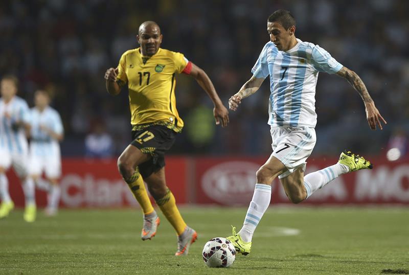 Argentina abrió el marcador con Gonzalo Higuaín. Foto: EFE
