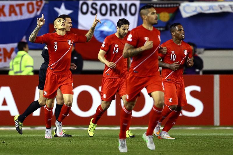 El cuadro 'inca' avanzó a semifinales, donde enfrentará a Chile. Foto: EFE.