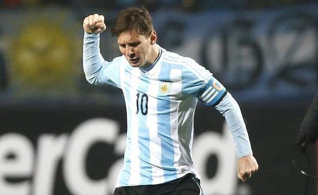 Lionel Messi, uno de los dos mejores atacantes de los cuartos de final. Foto: EFE.