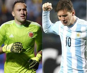 Ospina y Messi en el once ideal de la Copa América