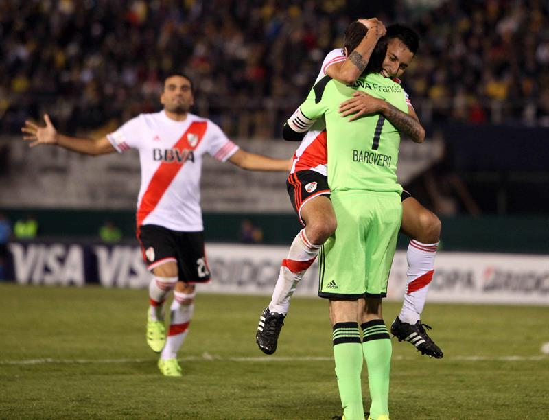 Así fue la clasificación de River Plate a la final. Foto: EFE