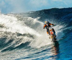 Robbie Maddison el intrépido que surfeó con una moto