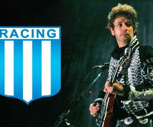 Gustavo Cerati murió amando al Racing de Avellaneda