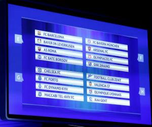 Definidos los grupos de la Liga de Campeones