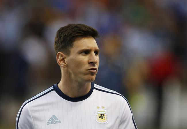 El argentino Leo Messi del Barsa, principal representante latinoamericano en la Liga de Campeones. Foto: EFE