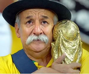 Murió el hincha más fiel de la Selección de Brasil