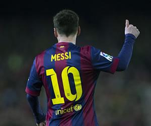Lionel Messi agradece el apoyo tras su lesión