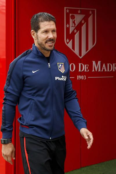 El DT argentino del Atlético de Madrid, Diego Pablo Simeone. EFE