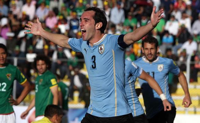 Uruguay derrota a Bolivia en La Paz. Foto: EFE