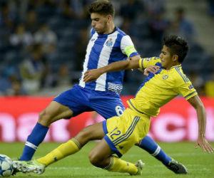 Rubén Neves se convierte en el capitán más joven en la Liga de Campeones