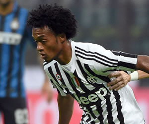 La Juventus de Cuadrado cedió puntos en casa