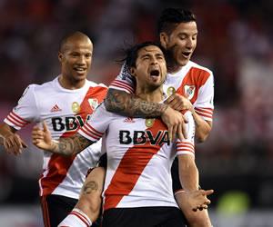 River Plate pisó fuerte en los cuartos de final de la Copa Sudamericana